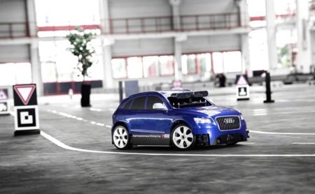 Audi ha creado una competición de coches a escala autónomos para estudiantes