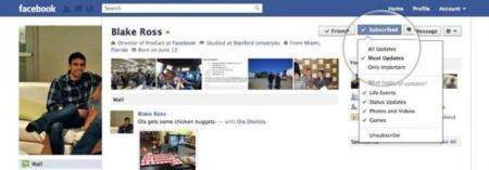 """Facebook lanza el botón """"Suscribirme"""""""