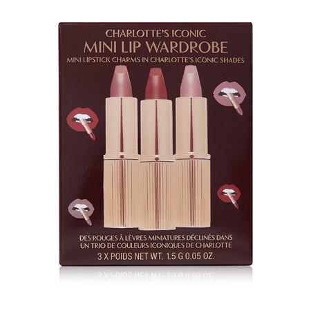 Charlotte S Iconic Mini Lip Wardrobe Box