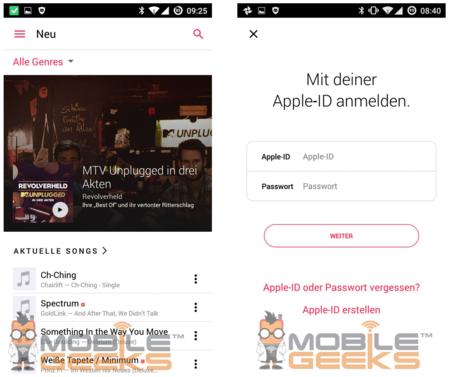 Apple Music para Android puede lucir así, y no tiene mala pinta