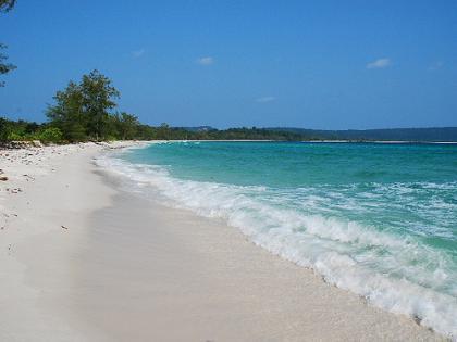La playa secreta