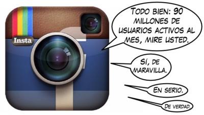 Primeros números de Instagram tras los controvertidos términos de uso: 90 millones de usuarios activos