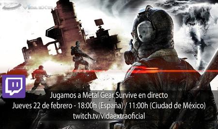 Streaming de Metal Gear Survive a las 18:00h (las 11:00h en Ciudad de México) [Finalizado]