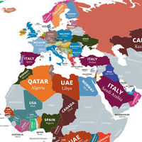 Los destinos turísticos más buscados para 2021, en un mapa