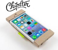 Chipster, una funda de cartón reciclado para el iPhone más hipster y ecológico