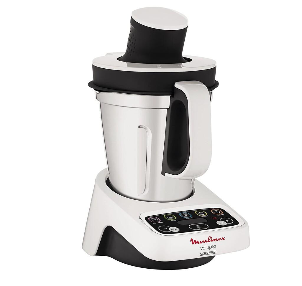 El robot de cocina Moulinex HF404113, con cinco funciones y tres litros de capacidad, está rebajado a 139 euros en Amazon
