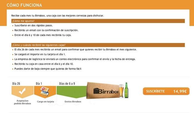 Suscripción a cervezas - 2