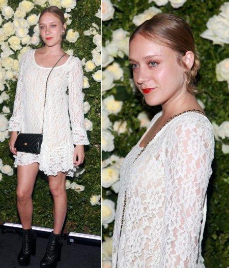 Chloe Sevigny Chanel