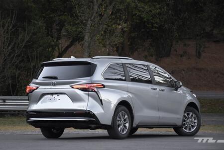 Toyota Sienna 2021 Minivan Hibrida Lanzamiento Mexico 4