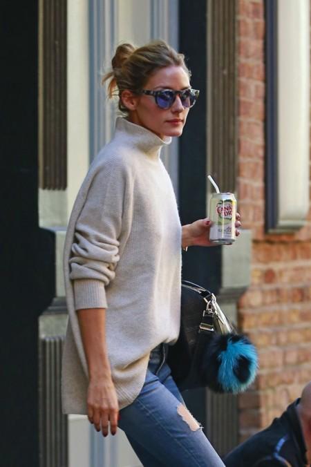 La moda de entretiempo es difícil, pero Olivia Palermo lo hace (super) fácil