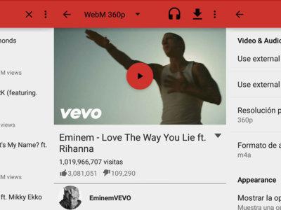 NewPipe es un reproductor de YouTube ligero que puede descargar vídeos y oirlos de fondo