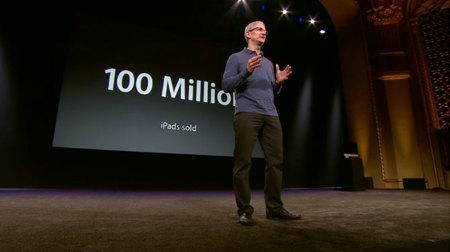 La presentación de ayer en cifras: 100 millones de iPads vendidos en dos años y medio, 200 millones con iOS 6