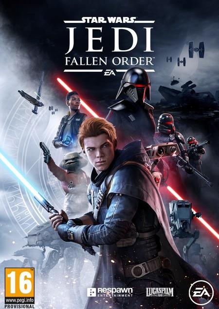 Star Wars Jedi: Fallen Order arte de portada