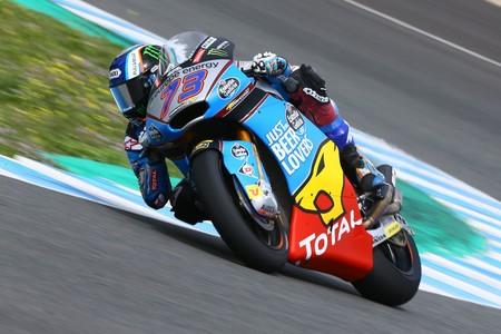 Álex Márquez firma el mejor tiempo del viernes en una jornada muy igualada de Moto2
