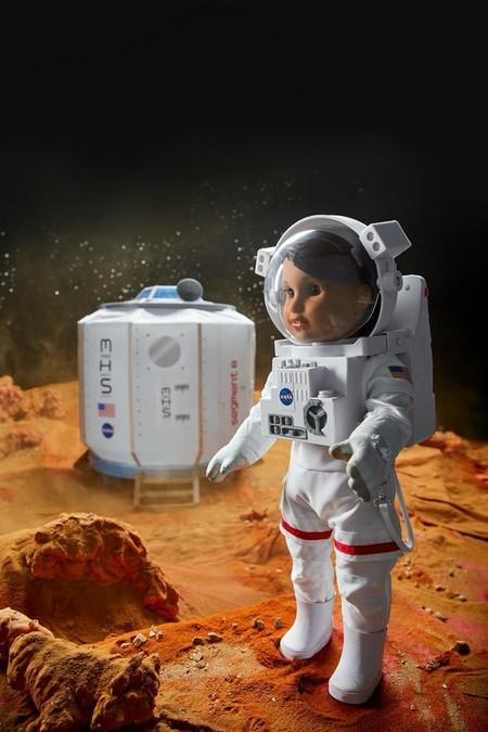 muñeca astronauta