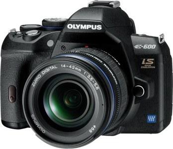 Olympus lanza oficialmente la inesperada E-600