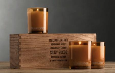 Día de la madre: velas con aroma a taller de talabartero
