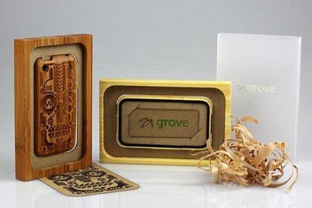 Grove Case, fundas de iPhone hechas en bambú y con diseño personalizado