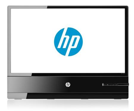 HP x2401, nuevo monitor que casi no verás de perfil