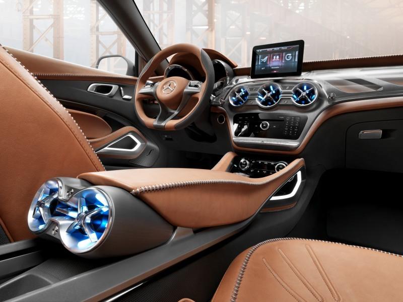 Foto de Mercedes GLA Concept (5/7)