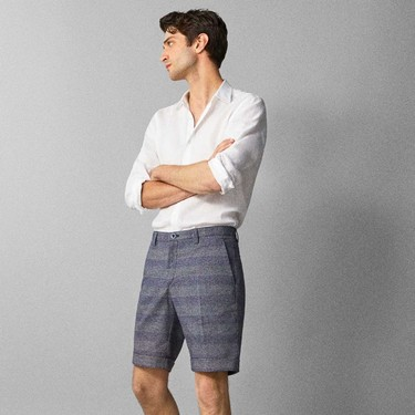 Estas bermudas tailored en rebajas de Massimo Dutti para un verano elegante