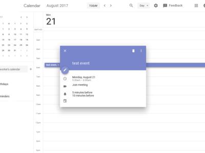 Google Calendar para el escritorio finalmente tendrá un diseño más bonito y acorde a Material Design
