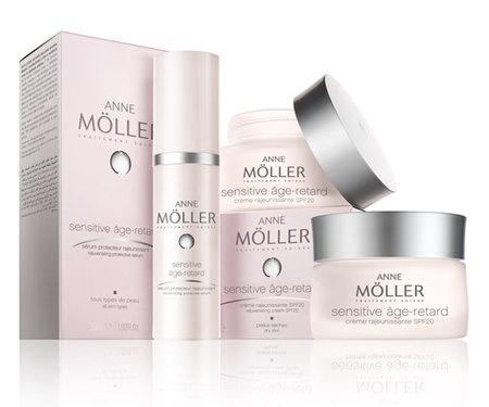 Sensitive Âge-Retard de Anne Mollër, nueva cosmética anti-edad para piel sensible