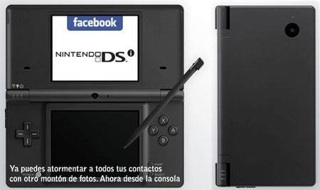 DSi y Facebook: subiendo fotos desde la consola