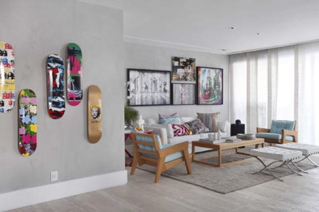 Puertas abiertas fotos y comentarios de un apartamento en for Oficinas decoradas con plantas