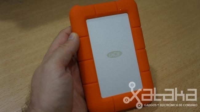 Lacie Rugged USB thunderbolt prueba caja