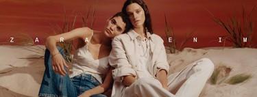 Zara sigue apostando por el tejido denim con una completa colección pensada para todos los gustos