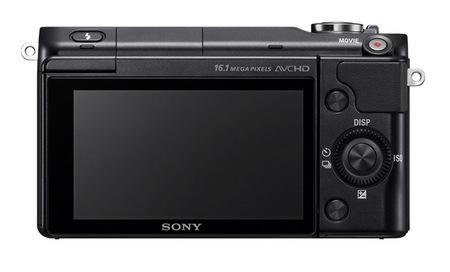 Sony NEX-3N vista trasera
