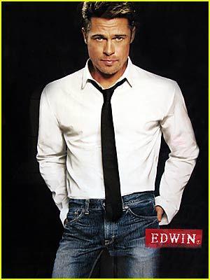 brad pitt edwin jeans