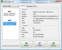 USB Image Tool, crea copias de tus discos USB