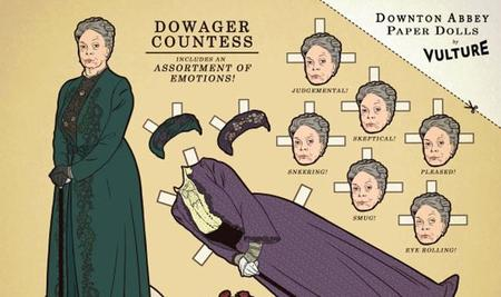 Los recortables de 'Downton Abbey', la imagen de la semana