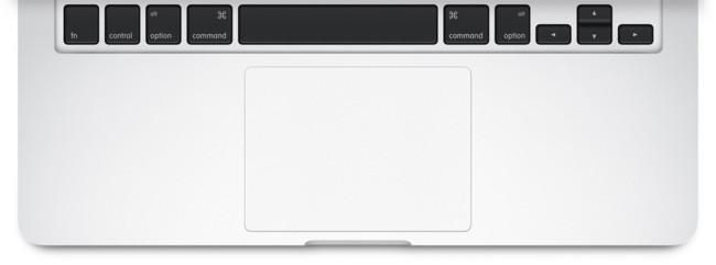 teclado y trackpad