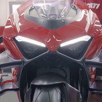 La primera Ducati Superleggera V4 sale de fábrica: una superbike exclusiva por 115.000 euros y con entrega de lujo