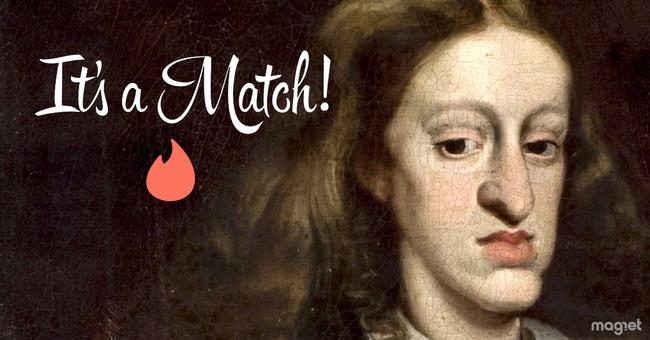 Un genio de Forocoches ha creado un perfil de Carlos II en Tinder (y está consiguiendo matches)