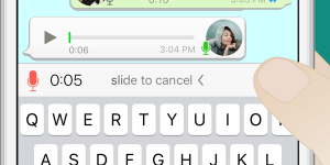 Ya disponible la actualización de WhatsApp para iOS con la que puedes grabar mensajes de audio más largos