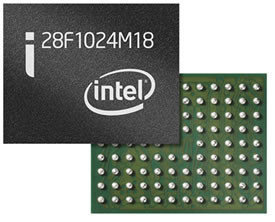 Primer chip de Intel de 1Gb y 65nm MLC NOR Flash