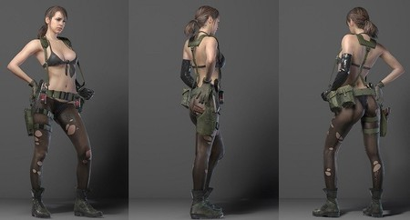 La figura de Quiet de Metal Gear Solid V