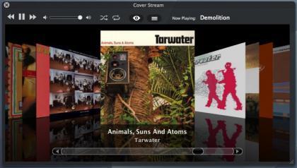 Cover Stream, para controlar iTunes