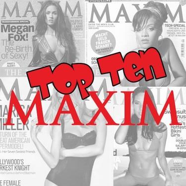 Top ten de las mujeres más sexys según Maxim