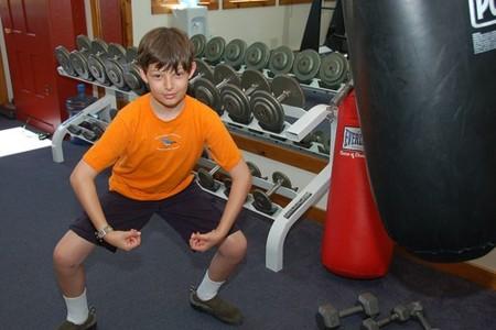 ¿Pueden los niños hacer pesas?
