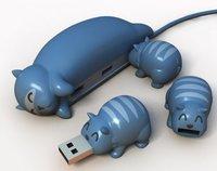 Originales y divertidos alargadores USB