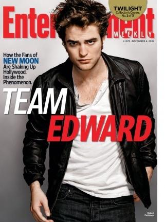 Robert Pattinson, Kristen Stewart y Taylor Lautner 'Crepúsculo Team'