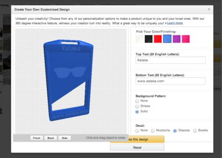 Amazon lanza su propia tienda de objetos personalizables impresos en 3D