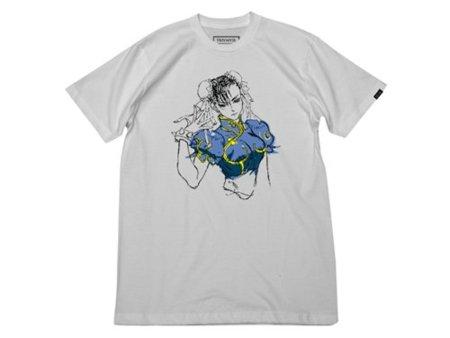 Super Street Fighter X, camisetas en edición limitada de Triumvir