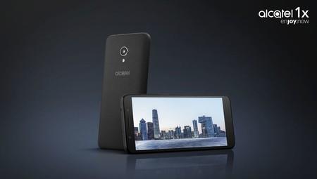 Alcatel 1X: el primer smartphone Android Go llega con Oreo y pantalla 18:9 por 100 euros