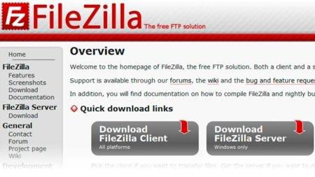 Filezilla no para y saca nueva versión 3.3.5-rc1